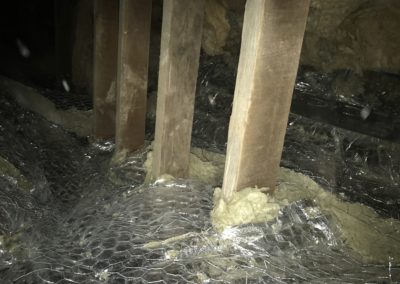 Marine Road Fire proofing project